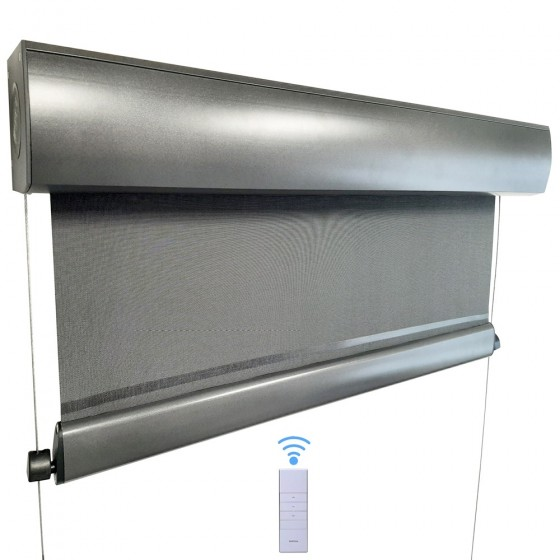 Motorised Wire Guided Blinds