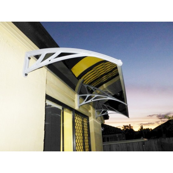 1.2m Projection Dark Polycarbonate Awnings