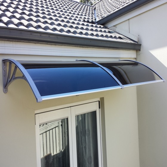 Double Module Polycarbonate Awnings