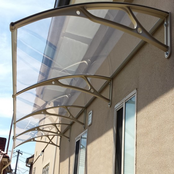 Triple Module Polycarbonate Awnings
