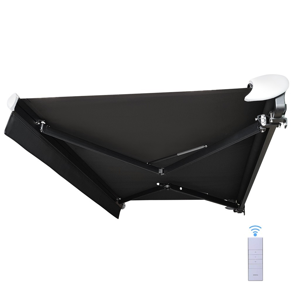 Motorised Retractable Folding Arm Awning
