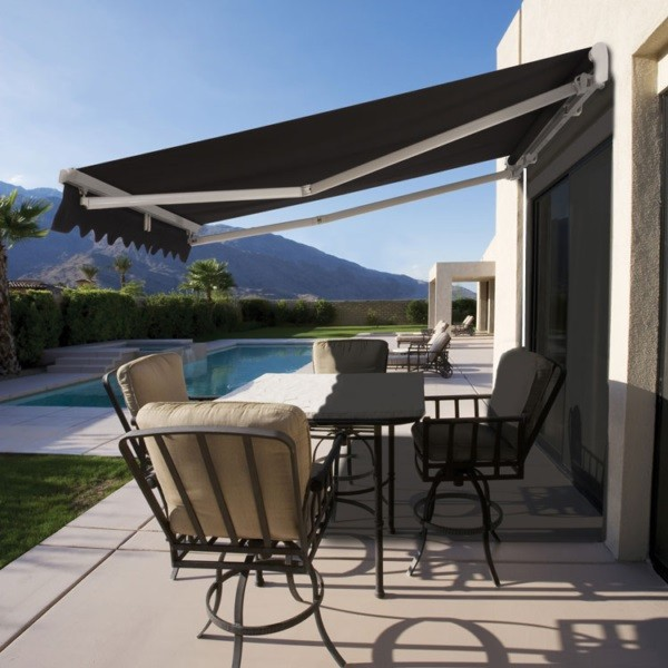 Manual Folding Arm Awnings